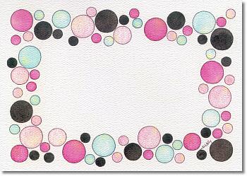 jennifer mally s have a heart creations polka dot border pastel